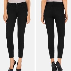 J Brand Hanna High Rise Crop with Ankle Zippers